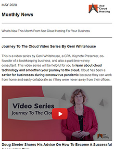 journey-to-the-cloud-newsletter